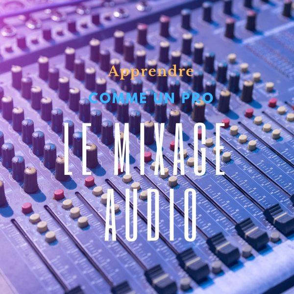 formation mixage audio