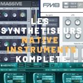 formation synthétiseur komplete native instruments