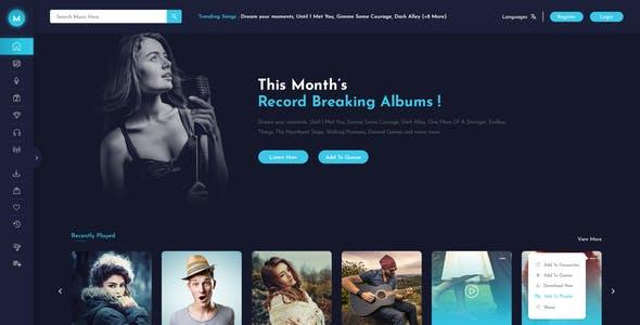 Comment créer son site internet spéciale musique ? Programme 1